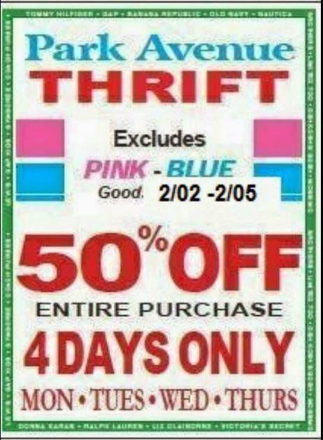 Thrifting Atlanta Thrift Coupons Park Ave Thrift Stores Weekly 50 Coupons Thrift Store Shopping Thrift Store Thrifting