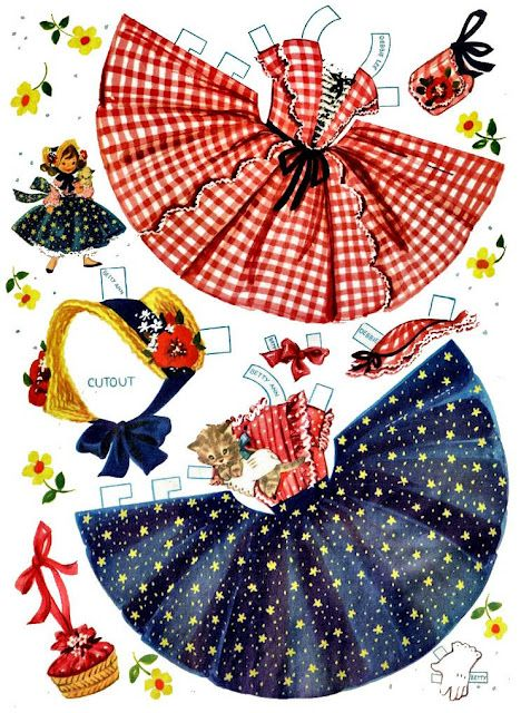 paper doll cloths