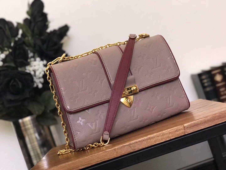 0807aade6833 replica Louis Vuitton Saint Sulpice PM Shoulder Bag M43395