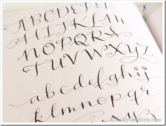 A Lost Art: Pretty Lettering | Penmanship, Creative lettering and ...
