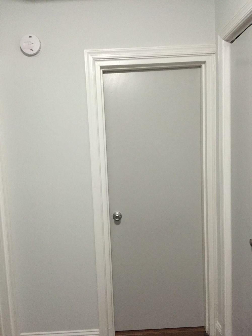 Wall Sherwin Williams Nebulous White Door Sherwin