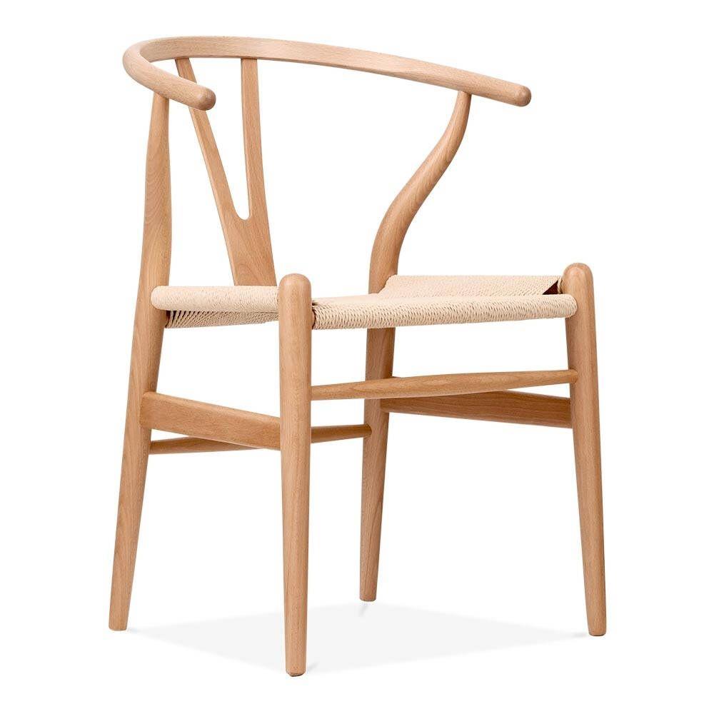 Wishbone Chair Hans Wegner Oak Wood In 2019 Chair