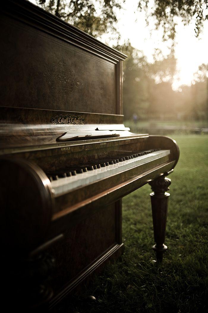 vintage pianos.