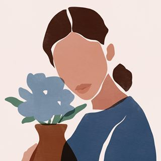 "coussin cousine . . #women #girl #composition #collage #minimalism #colors #drawing #shape #abstract #art #abstractart #contemporaryart… #illustration art wallpaper sacrée frangine on Instagram: ""bonne semaine 🌧 . . #monday #woman #flowers #colors #art #illustration #inspiration #minimalism #sacreefrangine"""