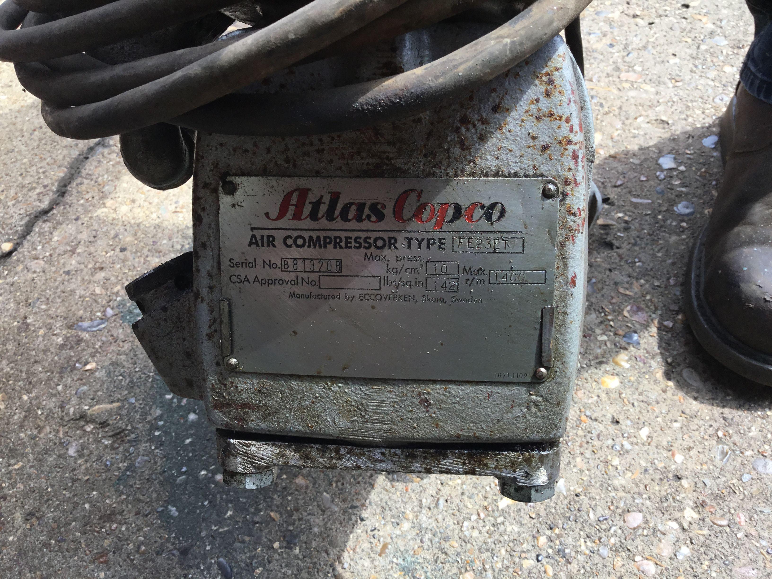Atlas Copco Air Compressor Air compressor, Compressor, Iga