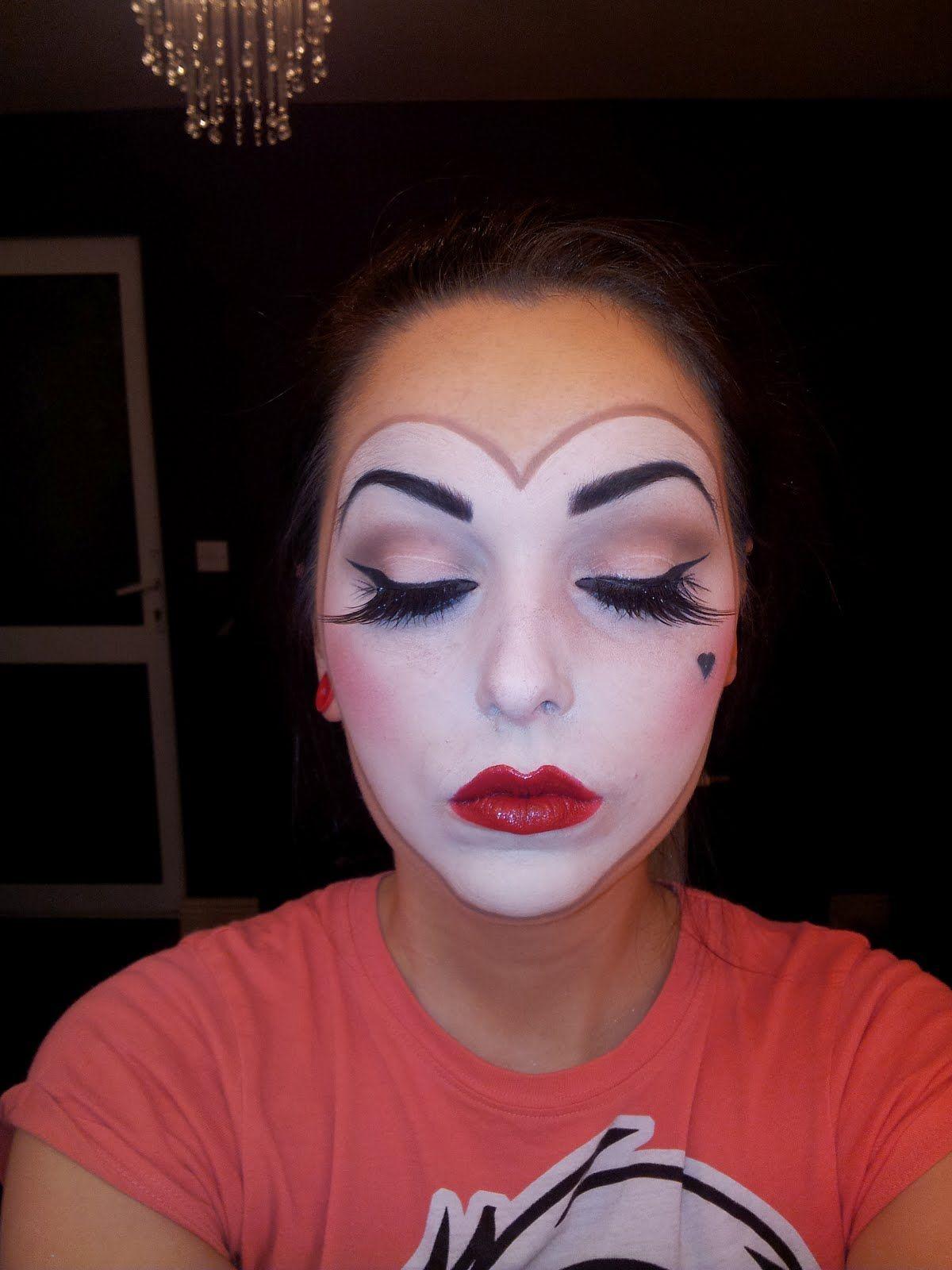 Halloween Make Up Queen Of Hearts Makeup Queen Of Hearts Halloween Queen Of Hearts