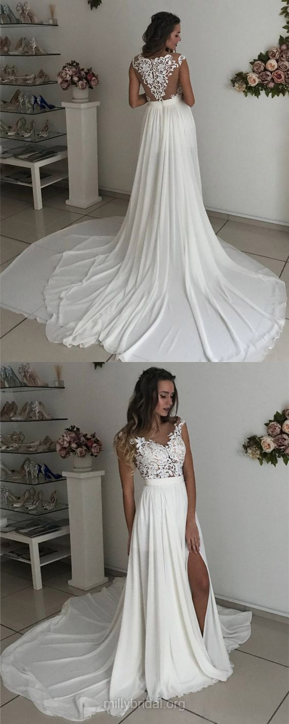 White wedding dresses long wedding dresses sheathcolumn wedding