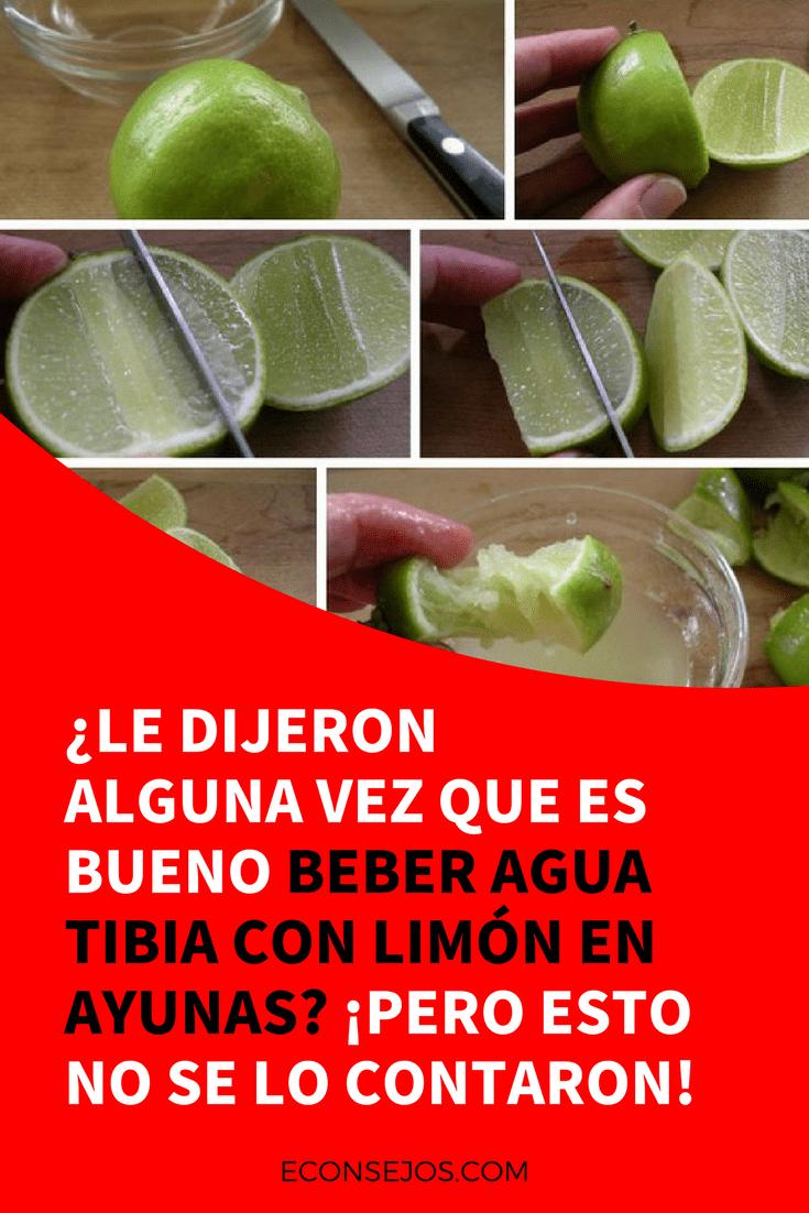 Como tomar limon para adelgazar