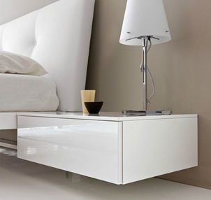 Mounted Bedside Table contemporary wall mounted bedside table linux bimax | bedroom