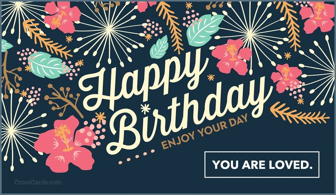 Send this free happy birthday enjoy your day ecard to a friend or send this free happy birthday enjoy your day ecard to a friend or family member m4hsunfo Images