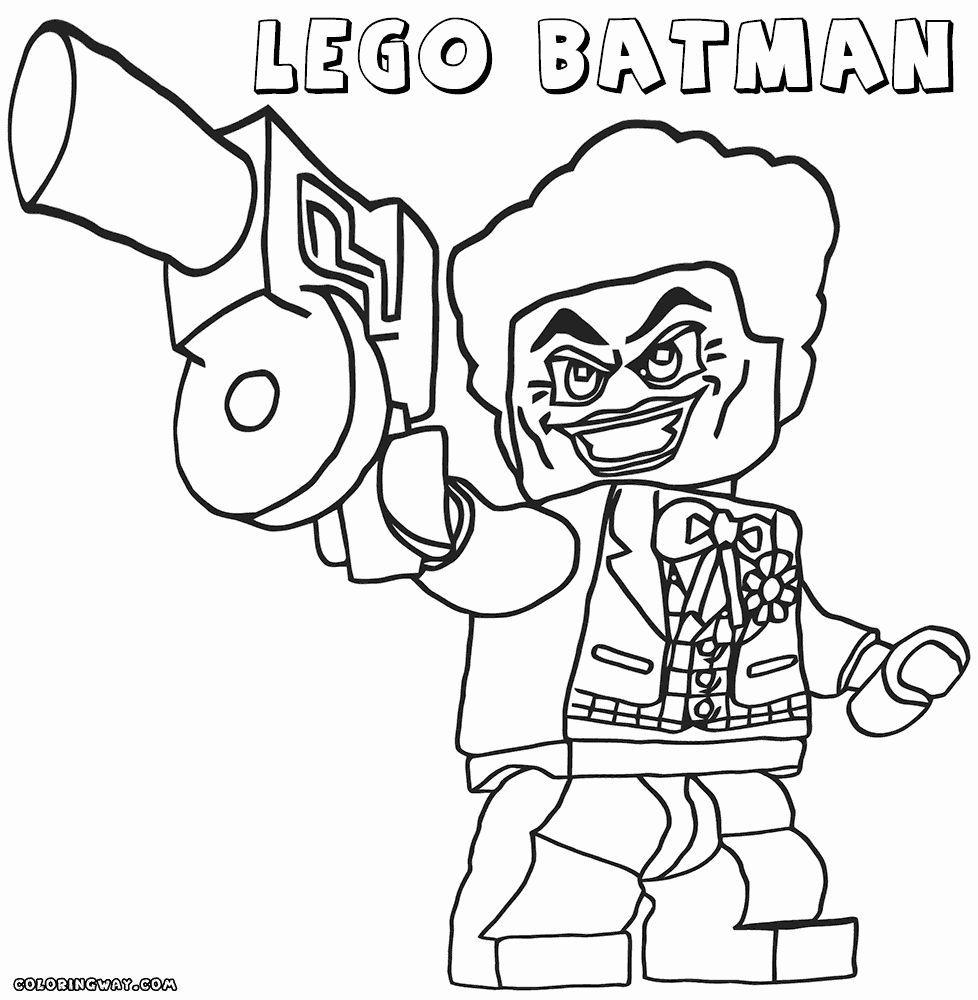 Batman Einzigartige Joker Lego Malvorlagen Lego Joker