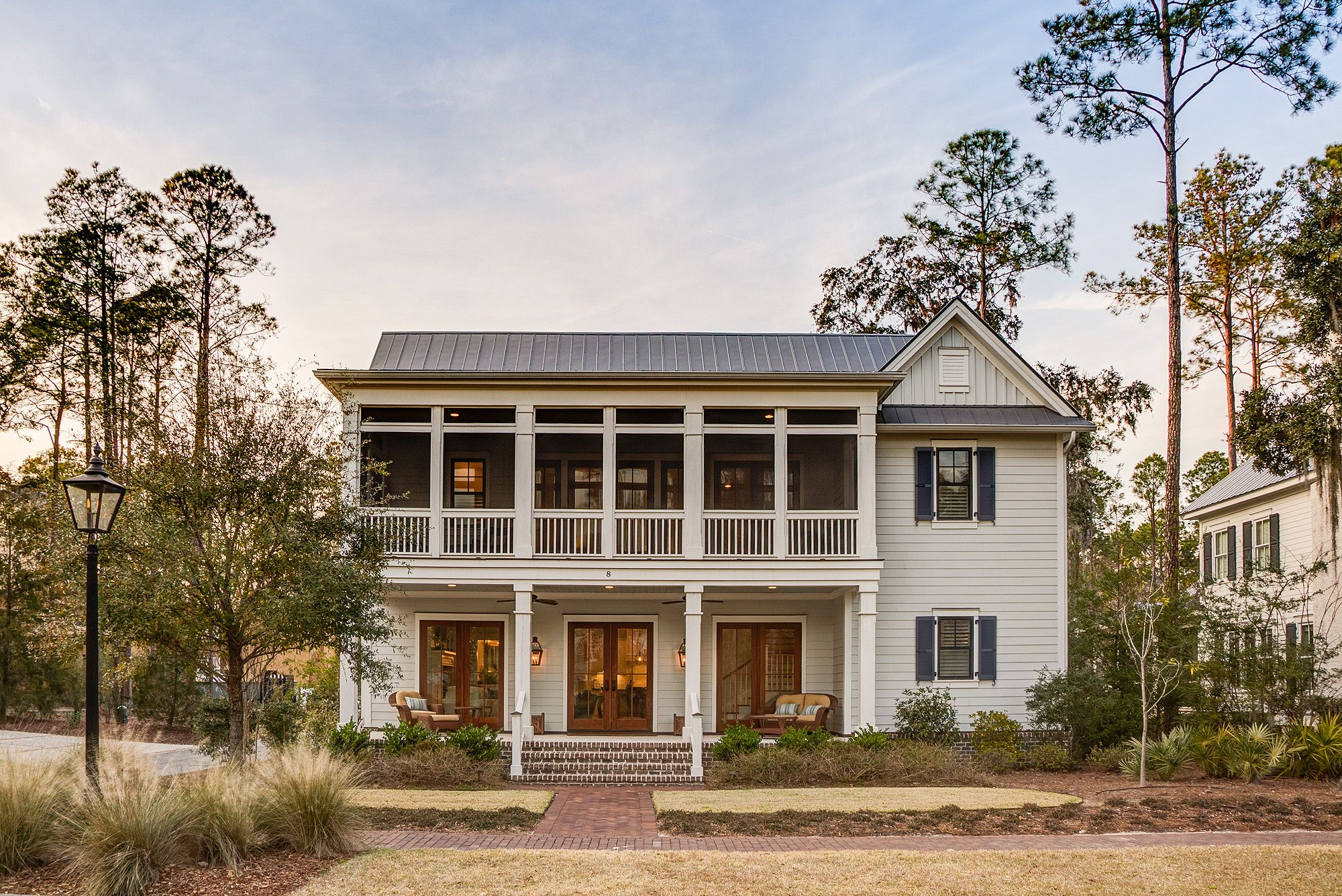 Gorgeous home in Bluffton, SC | Southern Style | Lowcountry Living | Beautiful Front Porch