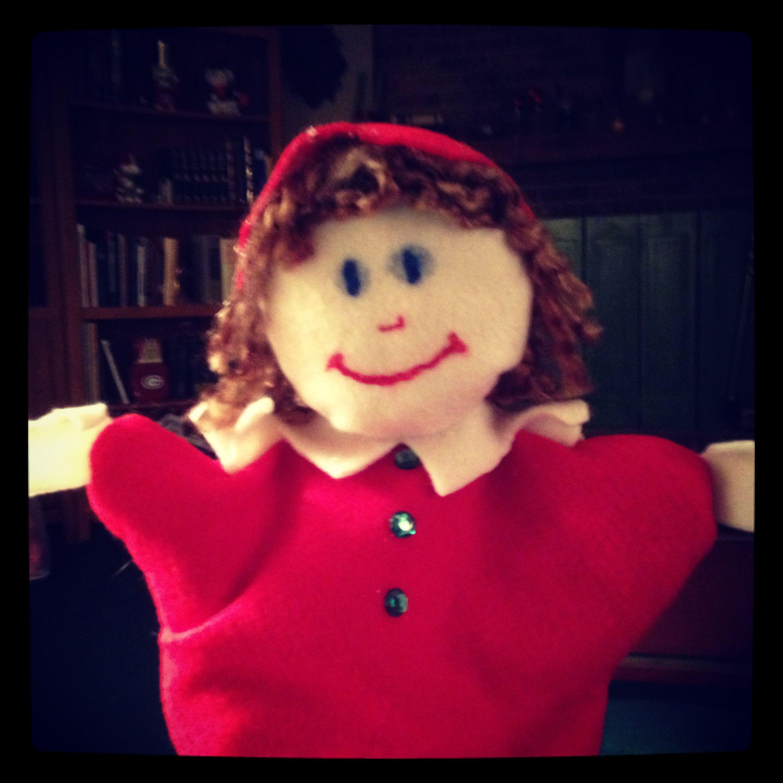 Elf puppet