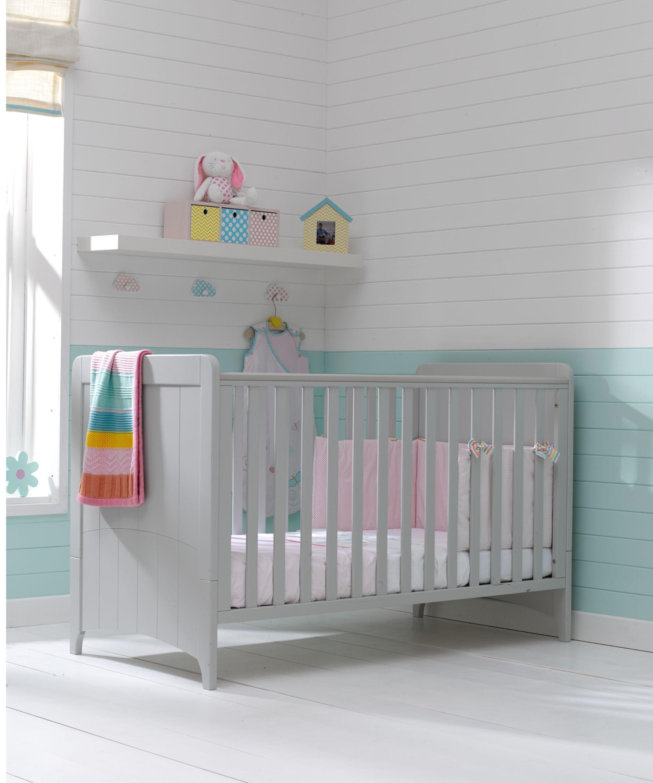 Mothercare Meadow Cot Bed - Pebble Grey   Nursery/Baby stuff ...