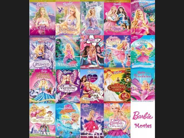 Peliculas De Barbie En Orden Childhood Movies Childhood Memories 2000 Barbie Movies