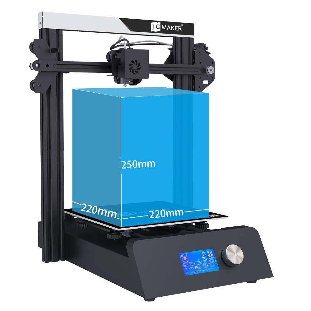 Jgmaker Magic 3d Printer Diy Kit With Filament Sensor And Resume Print Metal Base 220x220x250mm 110v Us Plug In 3d Printer Diy 3d Printer Diy Kits