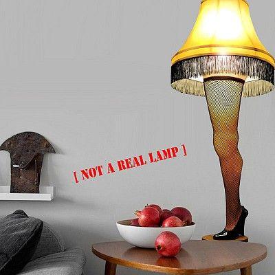A Christmas story leg lamp $2499 Art/Design Pinterest