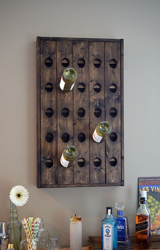 Sale Wood Wine Rack Riddling Rack Riddle Rack By Uptownartisan