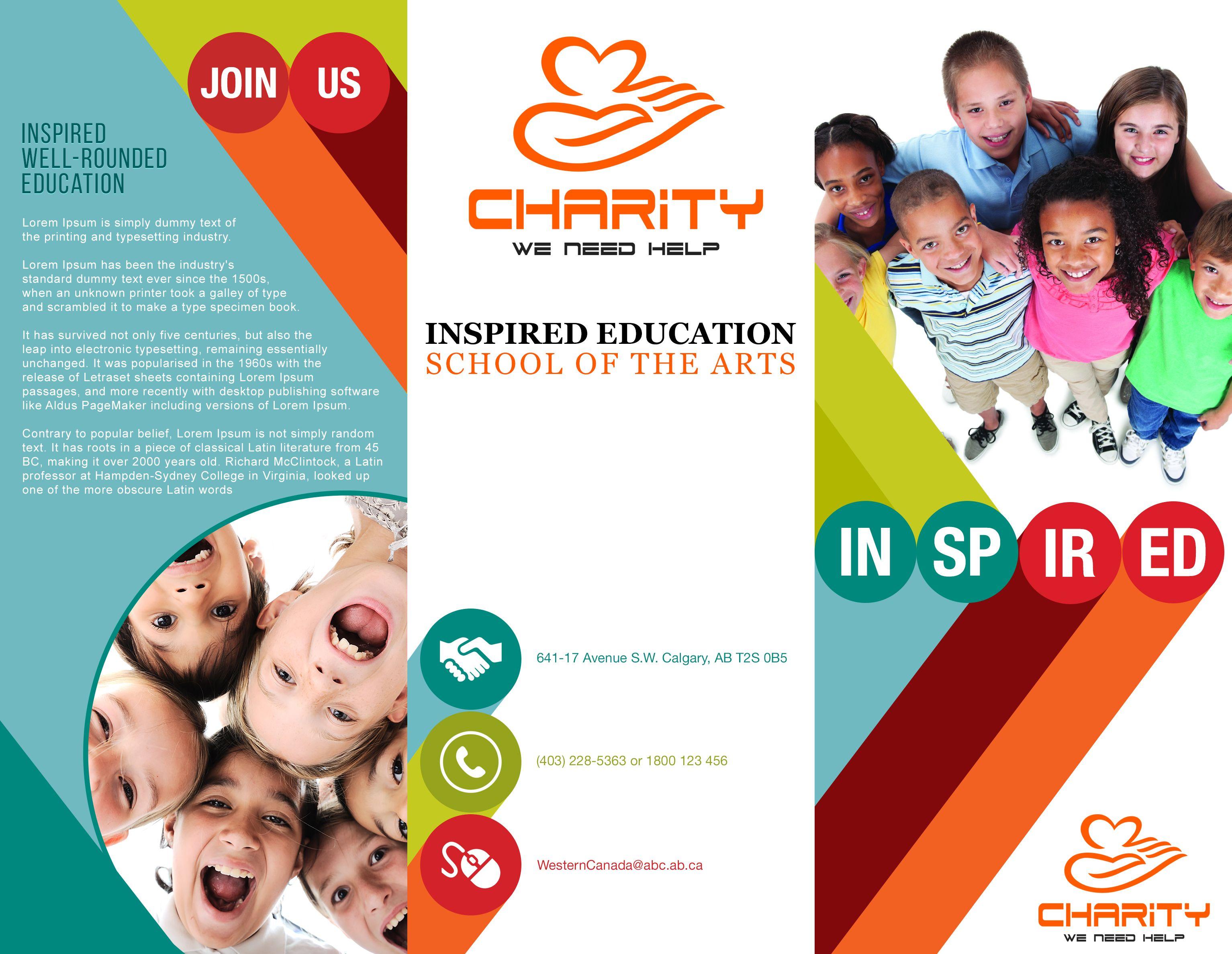 23+ Latest Charity Ngo Brochure Design - Align Boutique Inside Ngo Brochure Templates