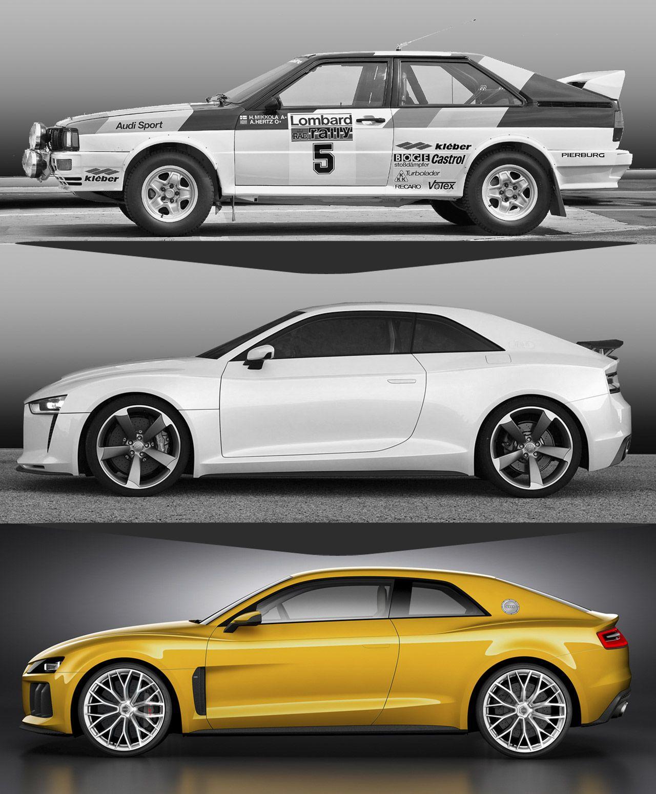 Audi Q3 Tfsi Quattro Sport Suv Estate: Original Quattro Sport + Audi Quattro Concept 2010 + Audi