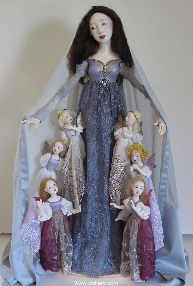 Titania and her fairies by Dollery.com