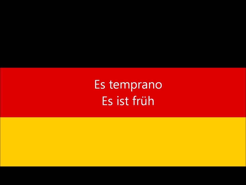 Aprender Alemán 100 Frases En Aleman Basicas Youtube