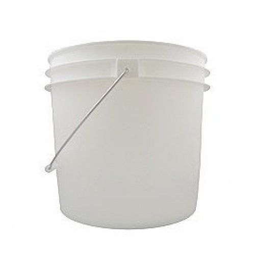 White 3.5 Gallon Bucket without Lid - (Food Grade) - Buckets u0026 Lids - STORAGE CONTAINERS - HOME u0026 KITCHEN  sc 1 st  Pinterest & White 3.5 Gallon Bucket without Lid - (Food Grade) - Buckets u0026 Lids ...