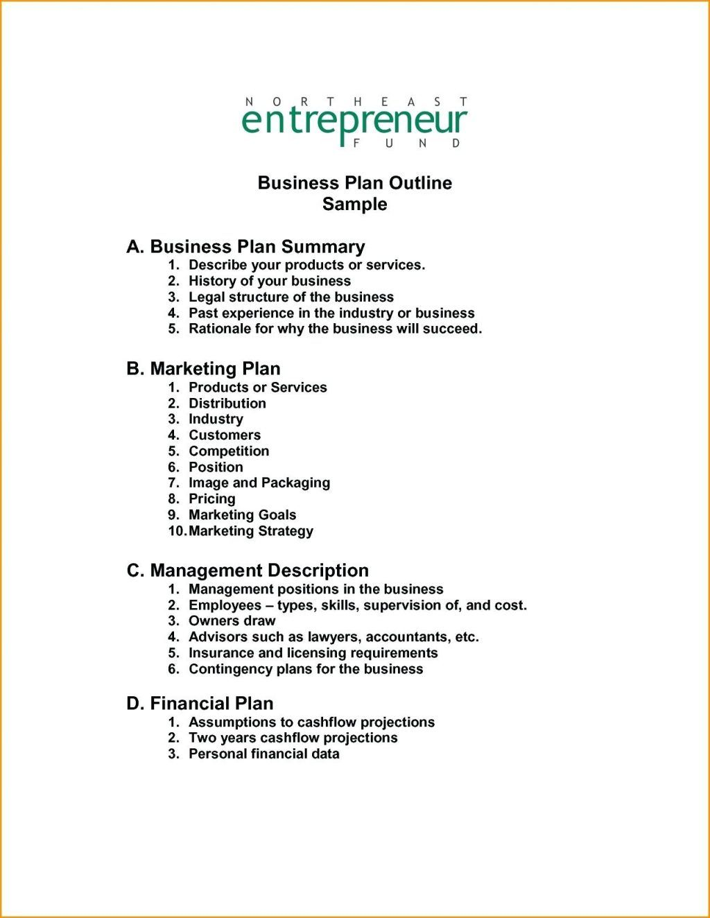 Free Small Business Plan Template Pdf Bakery Sample Doc