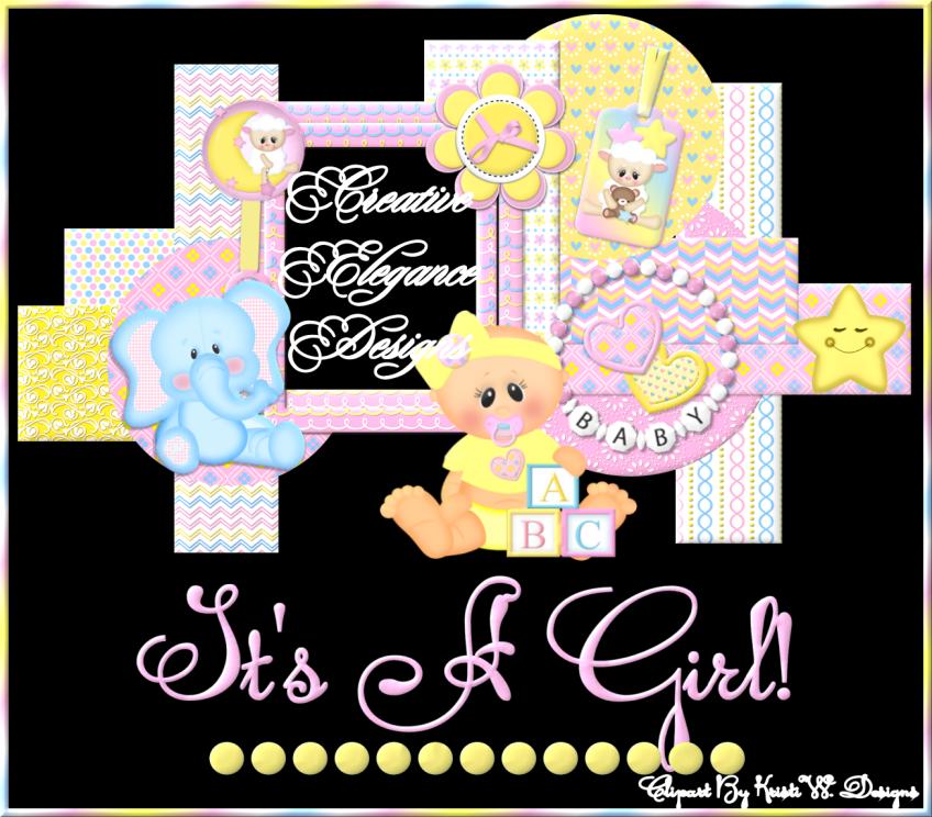 Baby Girl's Frame