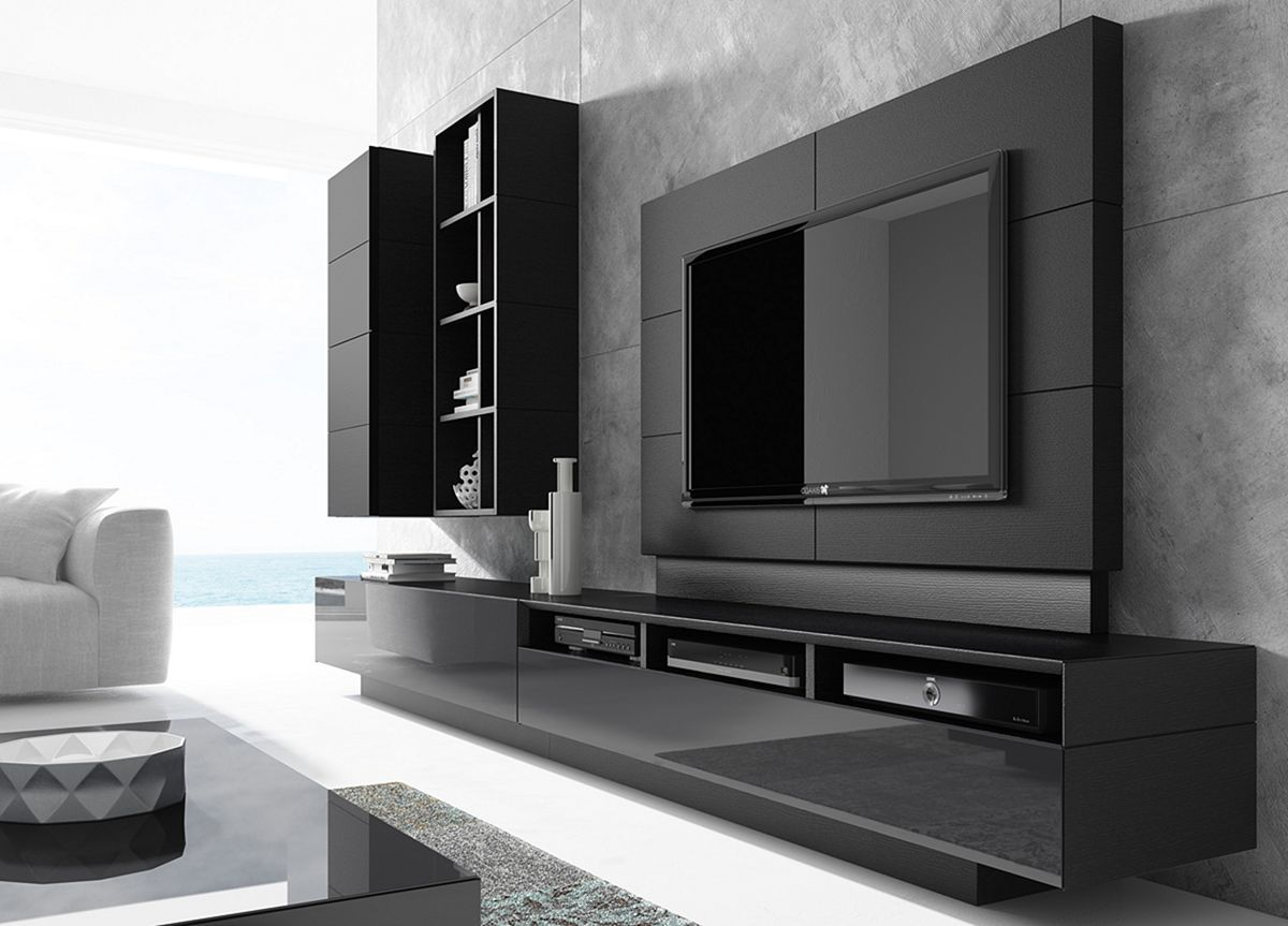 20+ Awesome Contemporary and Modern Wall Units Ideas / FresHOUZ ...