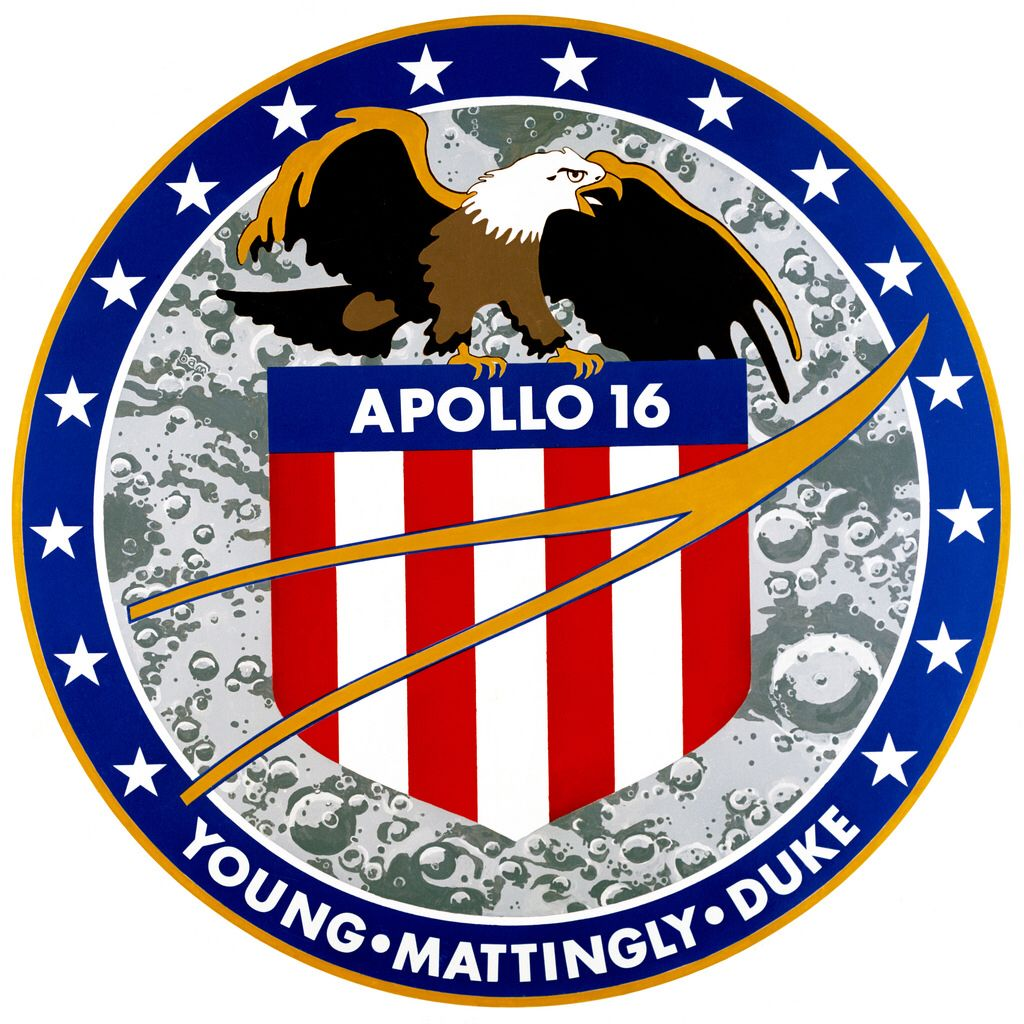 Apollo 16 Sonda spaziale, Immagini, Astronauta