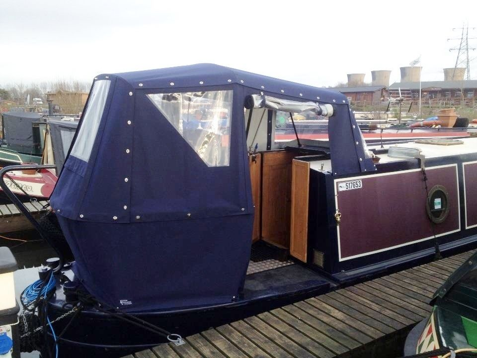 Need covers for your metal-framed wide beam and narrowboat prams? Call the Kinver Canopies Ltd team in Stourbridge on 01384 394 469 for a quote. & transparant stern cover narrowboat - Google Search | Wide Beam ...