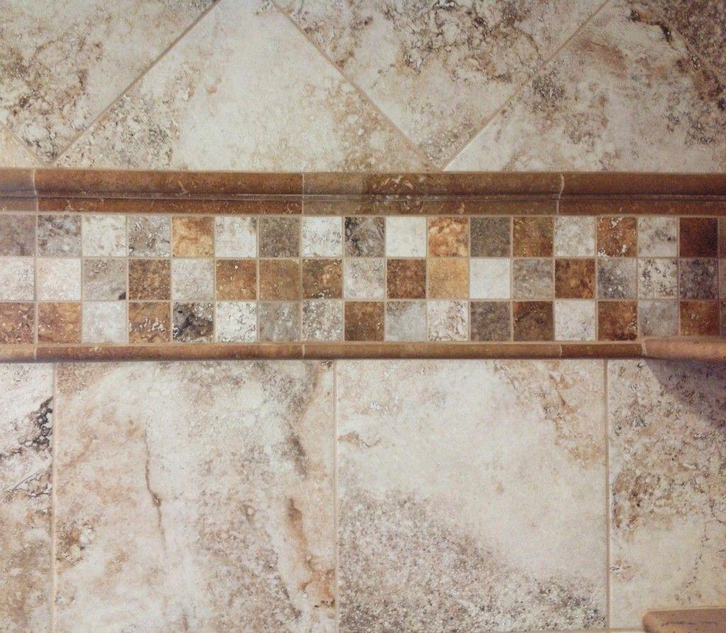 Interesting Subway Tile Backsplash With Abstrak Pattern For Best ...