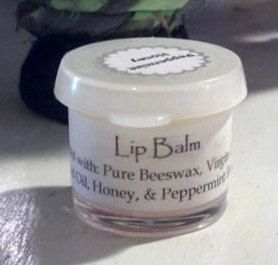 All Natural Peppermint Lip Balm by PinkAnachronism on Etsy, $2.00