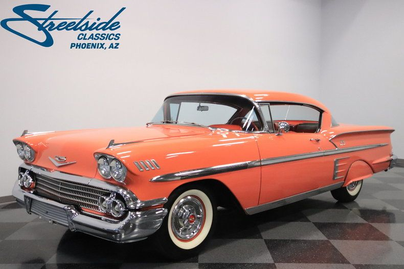 For Sale 1958 Chevrolet Impala Chevrolet Impala Classic Cars