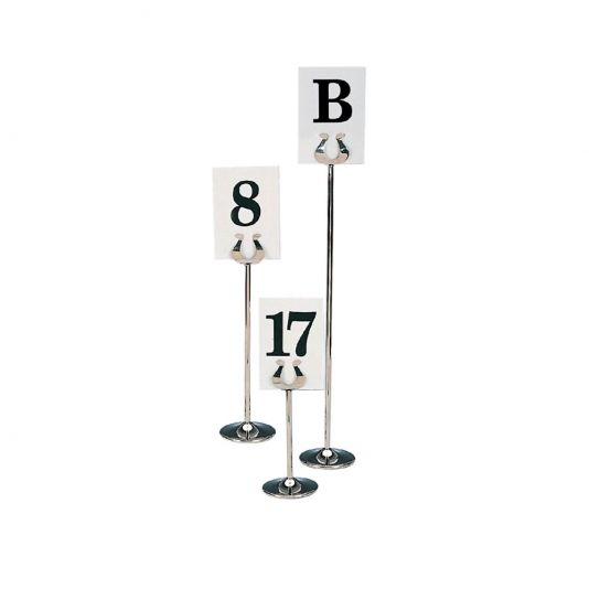 Steel Table Number Holders Restaurant Table Markers Chinese New