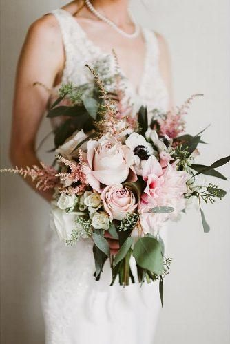 42 Soft Pink Wedding Bouquets You Will Love | Wedding Forward