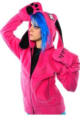 Cupcake Cult I Am Hood Ladies Goth Emo Punk Hoodie Sale Clearance