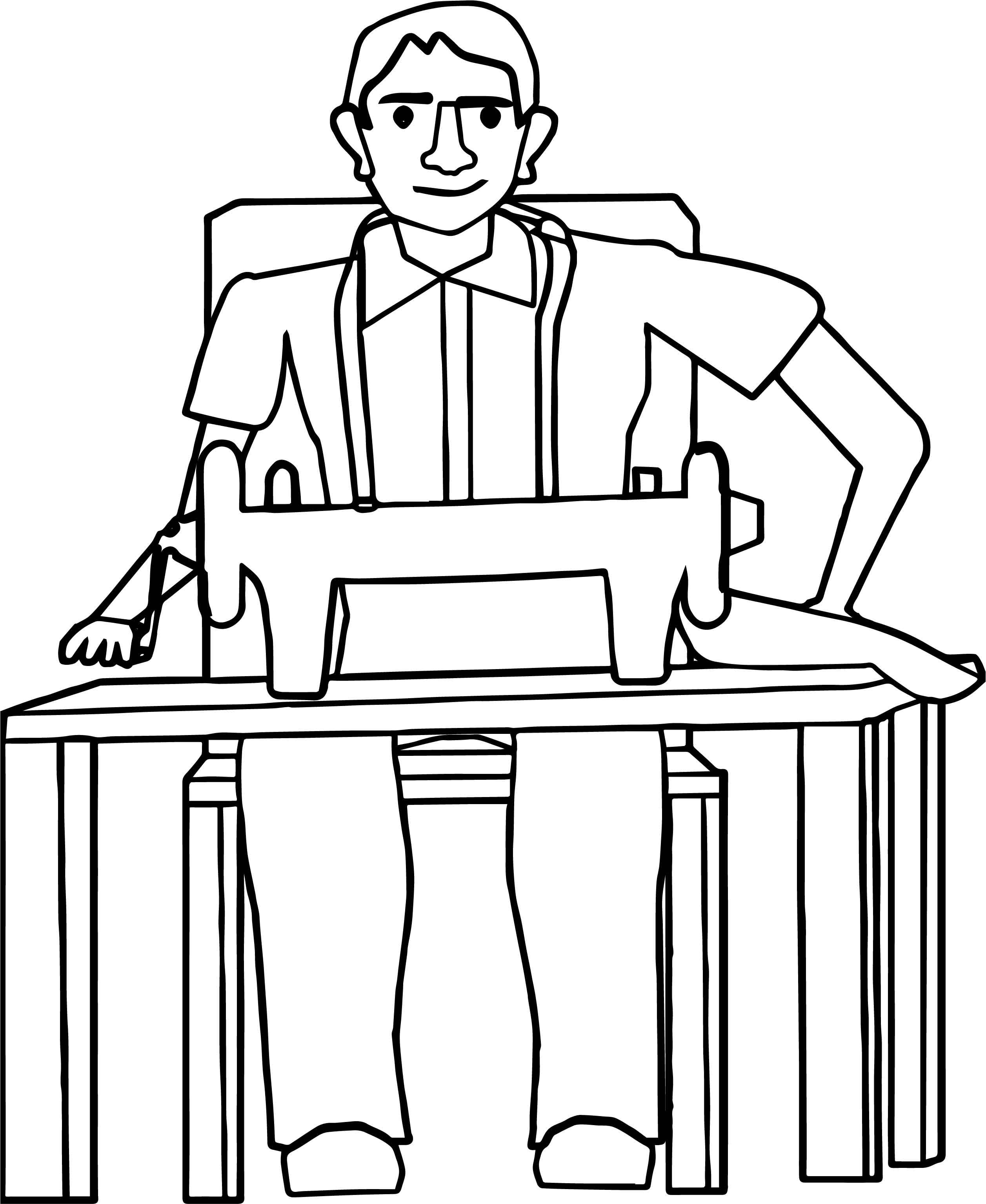 Awesome Tailor Man Machine Coloring Page Coloring Pages Color Free Printable Coloring Sheets