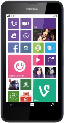 nice Nokia Lumia 630 Single-SIM Smartphone (11,4 cm (4,5 Zoll) Touchscreen, 5 Megapixel Kamera, HD-Ready Video, Snapdragon 400, 1,2GHz Quad-Core, Windows Phone 8.1) schwarz