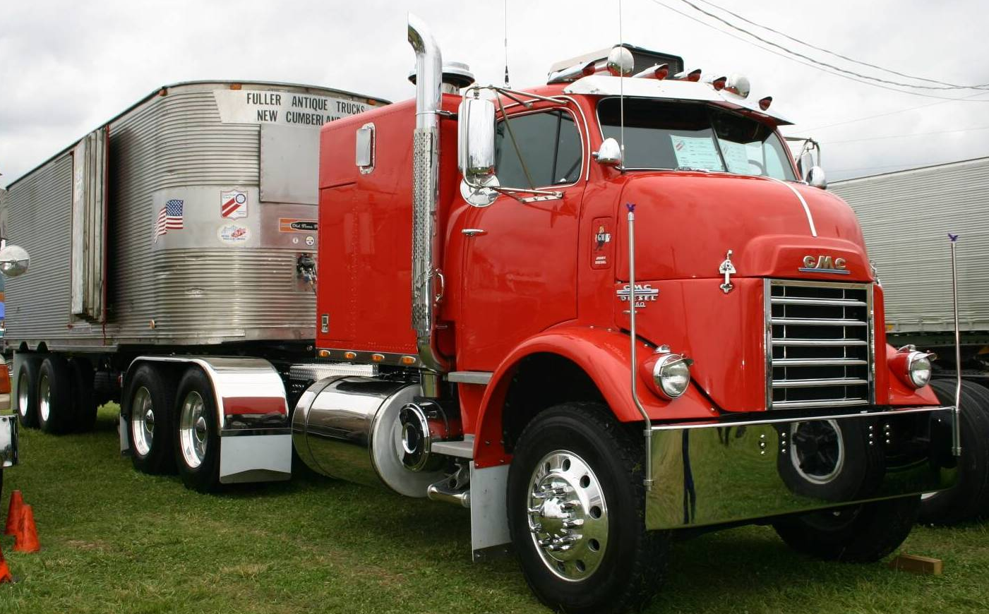 1950 Gmc Cannonball Coe Detroit Diesel Trucks Gmc Trucks Big