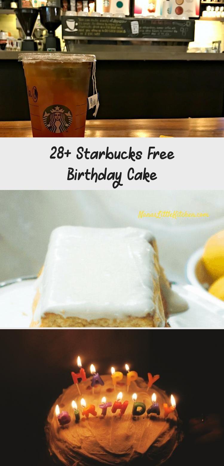 28+ Starbucks Free Birthday Cake Starbucks birthday
