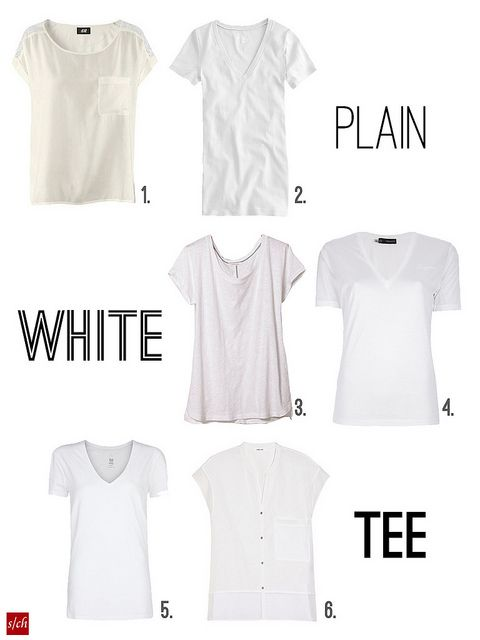 How to find the perfect white tee.