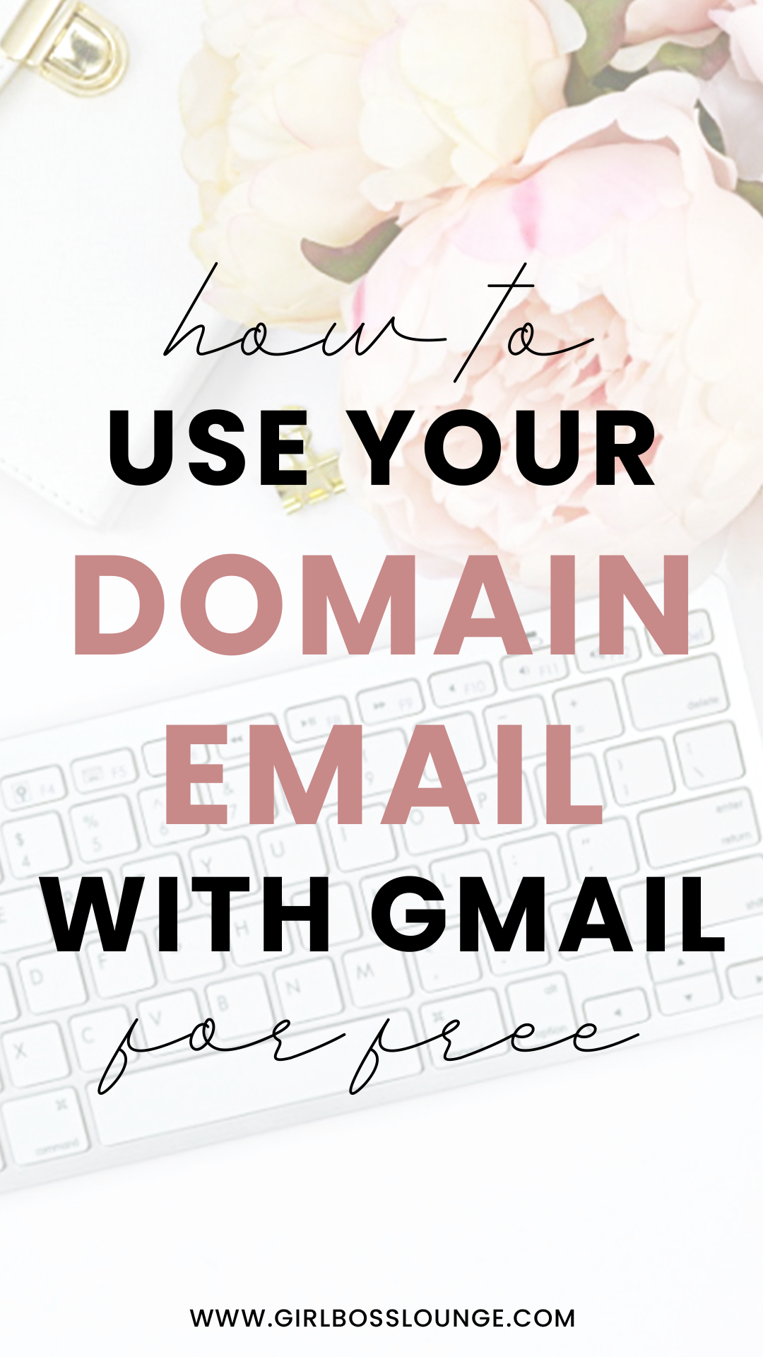 How to Use Your Domain Email with Gmail for FREE | Blogging