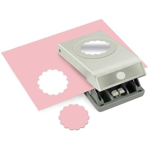 EK Tools 2-Inch Circle Paper Punch, Large, Scallop, New Package EK Success,http://www.amazon.com/dp/B00DN65V1G/ref=cm_sw_r_pi_dp_Icf4sb1G9F1XMYW8
