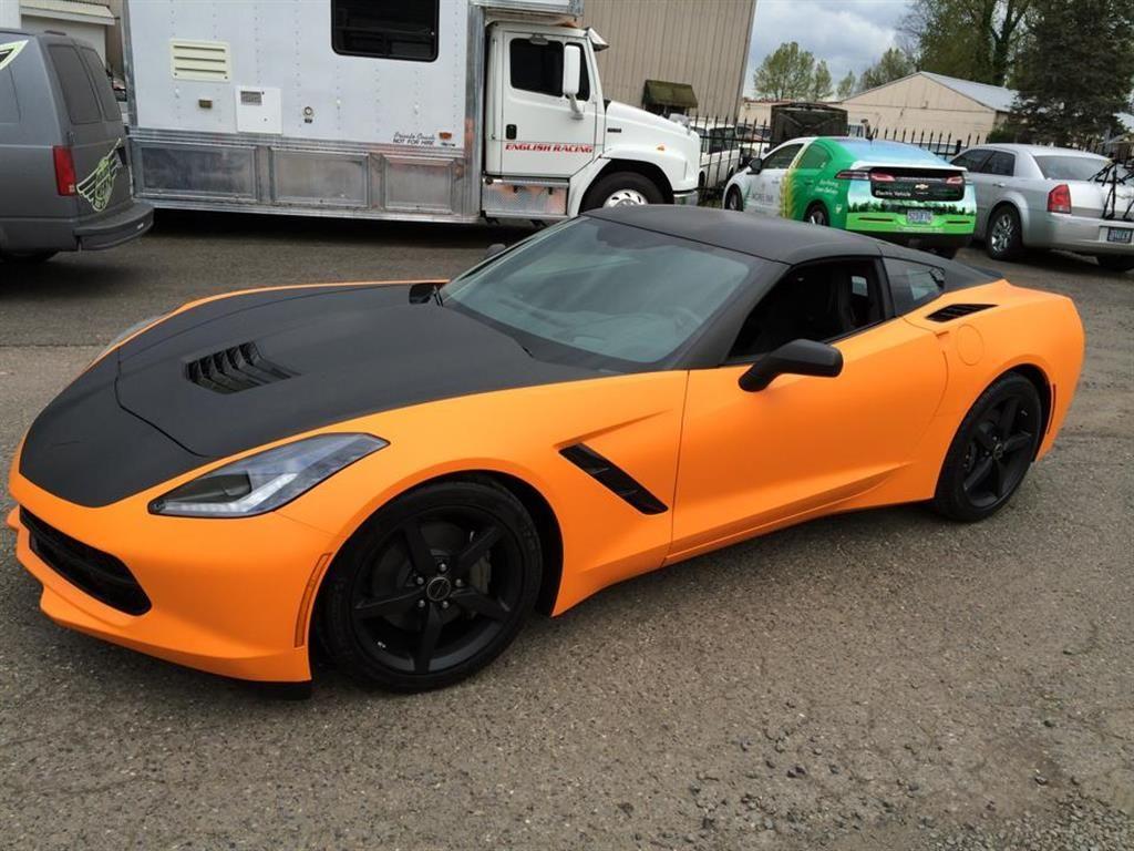 Corvette Color Change Wrap Kolor Werx Portland,OR ,US