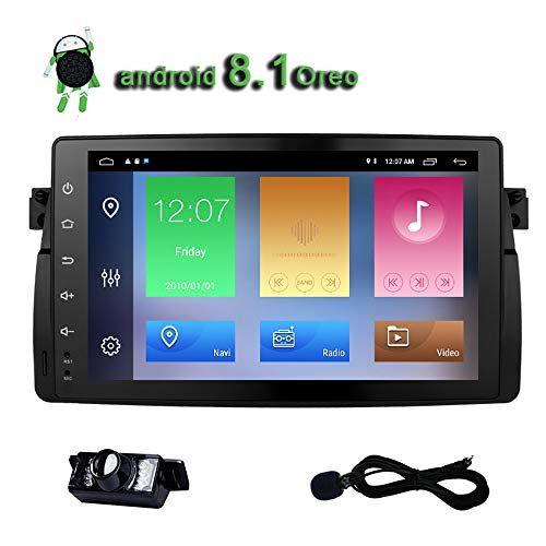 Car Radio E46 Android 8.1 Oreo Stereo Quad Core 9 Inch