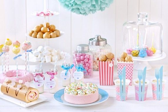 Baby Shower - pink and blue