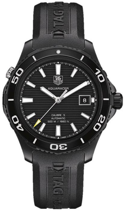 Tag Heuer Aquaracer Calibre 5 Authentic Men's Watch ...