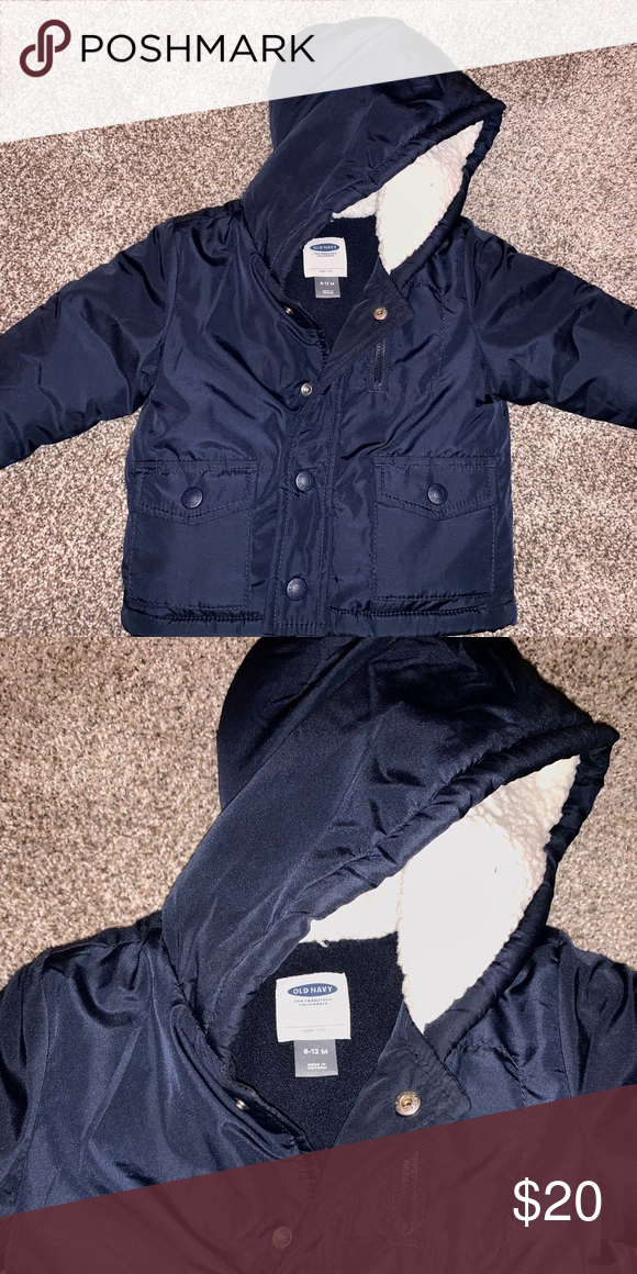 Navy Blue Baby Boy Winter Coat Boys Winter Coats Baby Boy Coat Winter Winter Coat